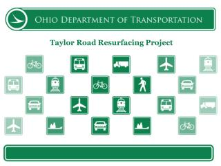 Taylor Road Resurfacing Project