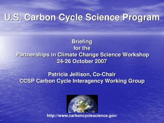 U.S. Carbon Cycle Science Program