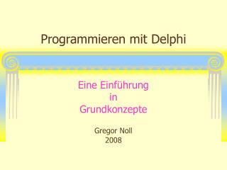 Programmieren mit Delphi