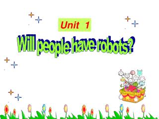 Will people have robots?