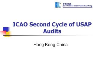 ICAO Second Cycle of USAP Audits