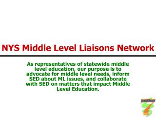 NYS Middle Level Liaisons Network