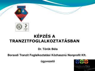 Borsodi Tranzit Foglalkoztatási Közhasznú Nonprofit Kft. TÁMOP-1.4.6-13/1 -2013-0013
