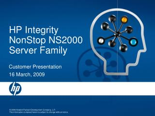 HP Integrity NonStop NS2000 Server Family