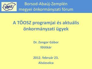 Borsod-Abaúj-Zemplén megyei önkormányzati fórum