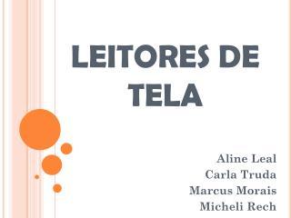 LEITORES DE TELA