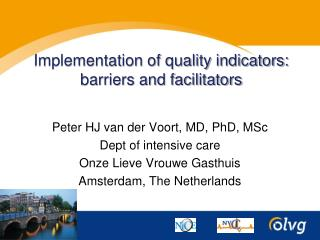 Implementation of quality indicators: barriers and facilitators