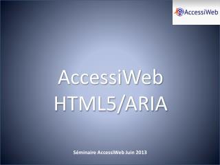 AccessiWeb HTML5/ARIA