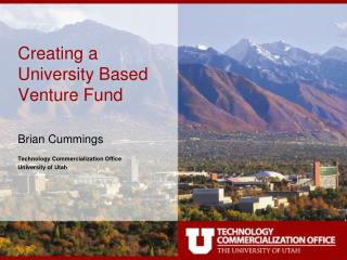 Creating a University Based Venture Fund
