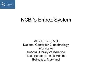 NCBI's Entrez System