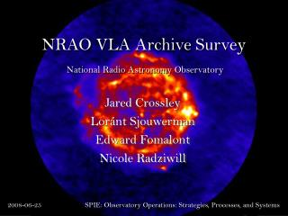 NRAO VLA Archive Survey