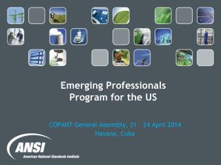 Emerging Professionals  Program for the US
