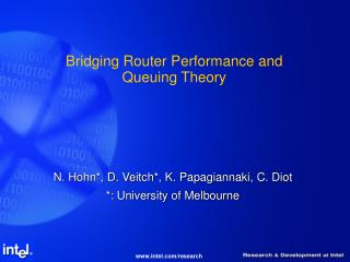 Bridging Router Performance and Queuing Theory