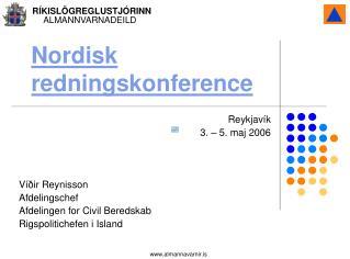 Nordisk redningskonference