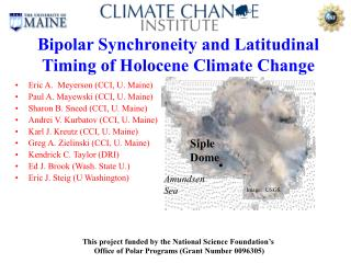 Bipolar Synchroneity and Latitudinal Timing of Holocene Climate Change