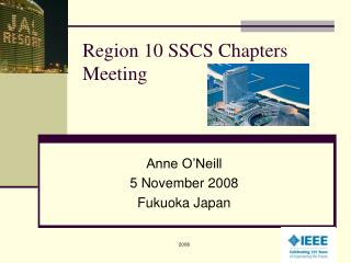 Region 10 SSCS Chapters Meeting