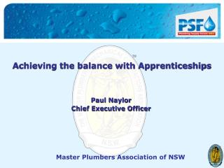 Achieving the balance with Apprenticeships