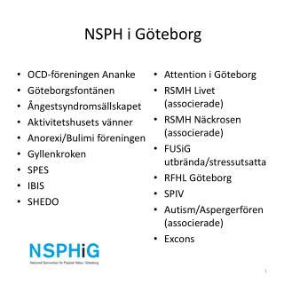 NSPH i Göteborg
