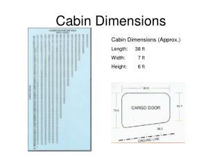 Cabin Dimensions