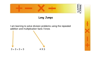 Division   Using a number Line Division is repeated SUBTRACTION or ADDITION
