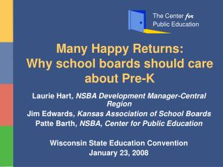Many Happy Returns: Why school boards should care about Pre-K