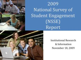 2009  National Survey of Student Engagement (NSSE) Report