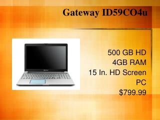 Gateway ID59CO4u