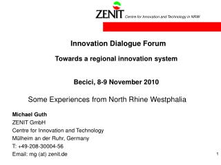 Innovation Dialogue Forum