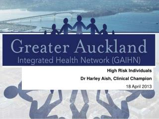 High Risk Individuals Dr Harley Aish, Clinical Champion 18 April 2013