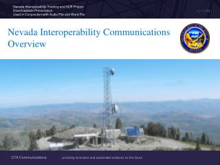 Nevada Interoperability Communications  Overview