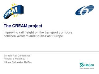 The CREAM project