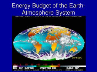 Energy Budget of the Earth-Atmosphere System