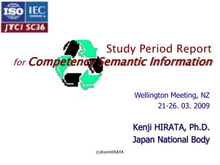 Study Period Report for Competency Semantic Information