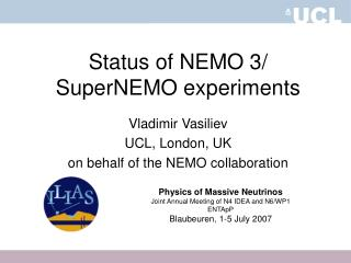 Status of NEMO 3/ SuperNEMO experiments