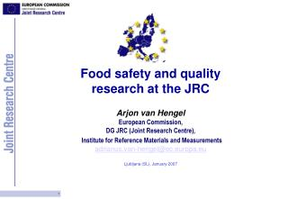 European Commission  Joint Research Centre