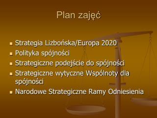 Plan zaj??
