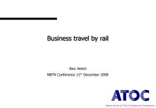 Business travel by rail