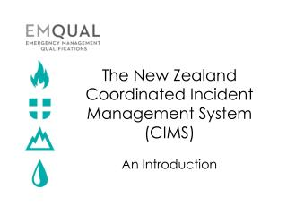 The New Zealand Coordinated Incident Management System (CIMS)