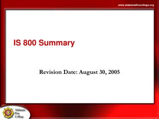 IS 800 Summary