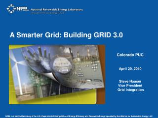 A Smarter Grid: Building GRID 3.0
