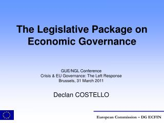 The Legislative Package on Economic Governance