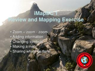 iMapBC 1 Review and Mapping Exercise