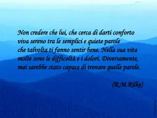Citazione Rilke