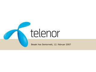 Bes�k hos Seniornett, 12. februar 2007