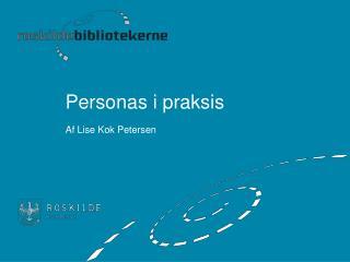 Personas i praksis