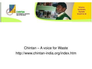 Chintan – A voice for Waste chintan-india/index.htm