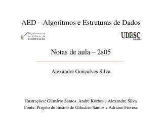 AED – Algoritmos e Estruturas de Dados