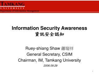 Information Security Awareness