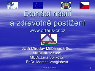 Domácí násilí  a zdravotně postižení orfeus-cr.cz