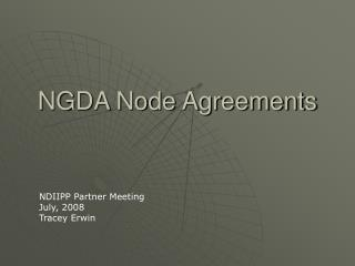 NGDA Node Agreements
